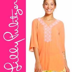 Lilly Pulitzer Coral Tunic